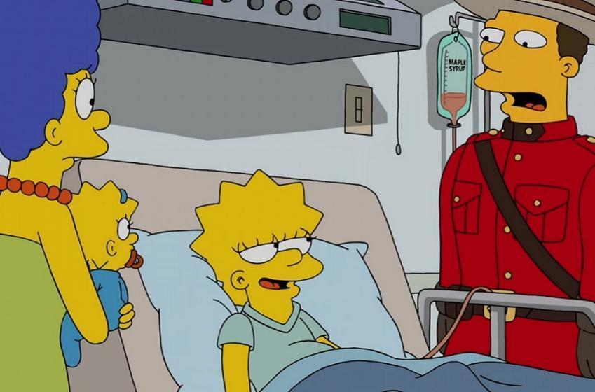 Ottawa Senators humiliated on the latest episode of the Simpsons.
