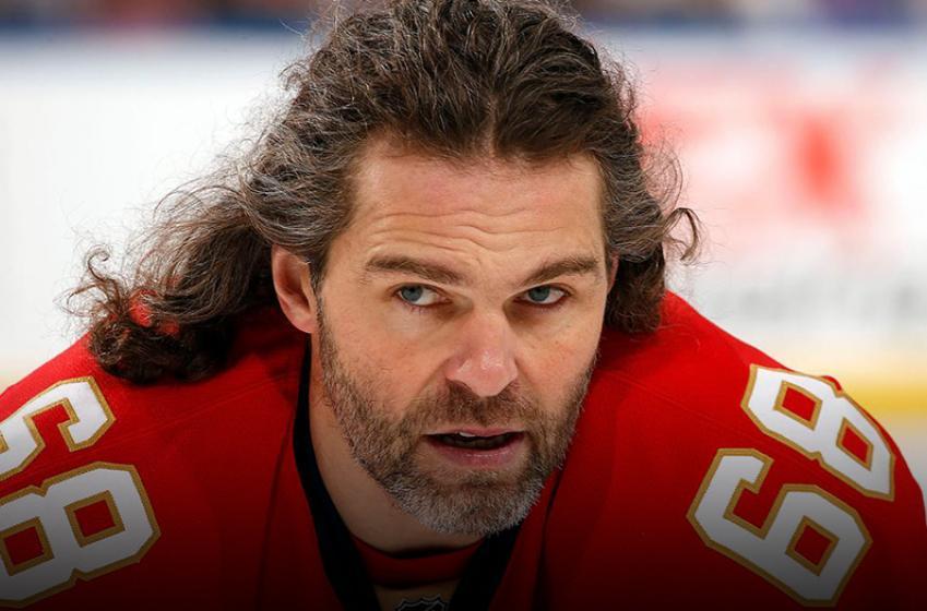 Breaking: Jagr still out, Flames coach makes disturbing statement
