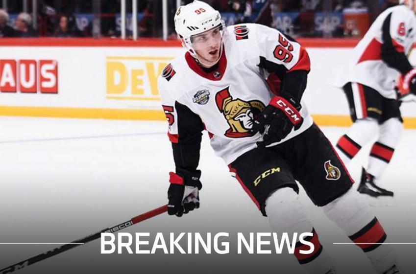 Breaking: Matt Duchene finally scored a goal with the Senators!