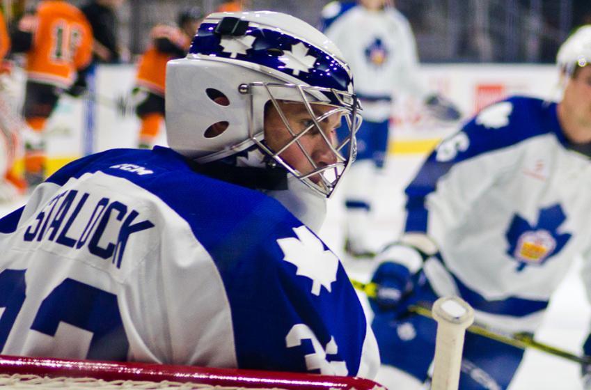 "Wild backup Stalock recalls ""weird"" stint with Leafs"