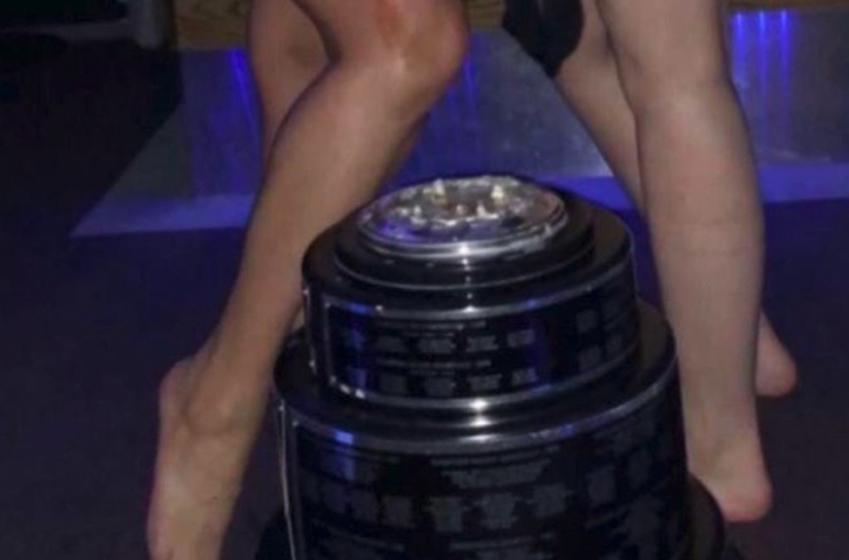 ECHL's Kelly Cup broken in half at Newfoundland strip club