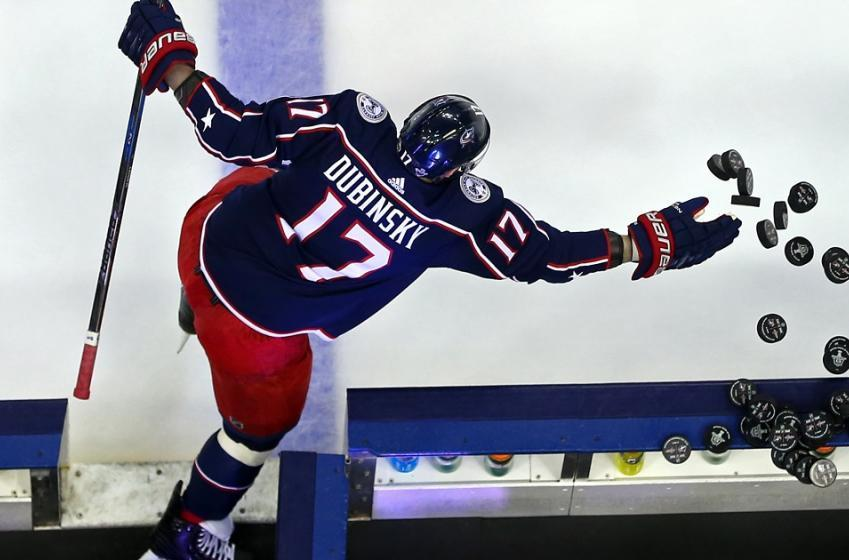 Breaking: Brandon Dubinsky has suffered a major injury in practice,