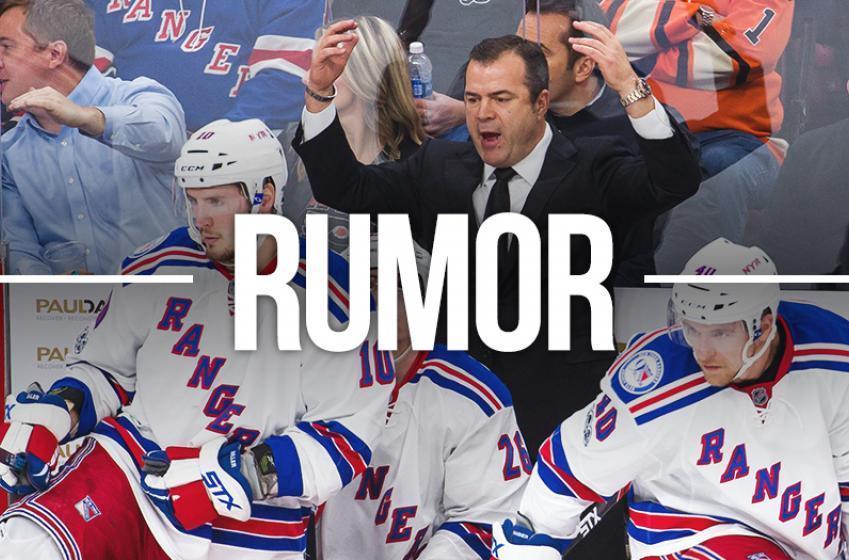 Report: Former Jack Adams Award winner rumored to be joining Rangers staff