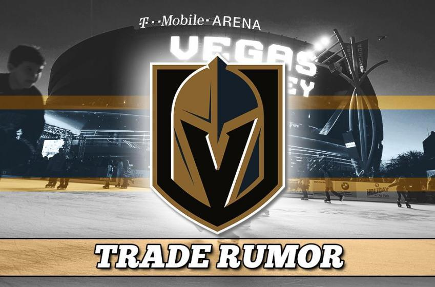 Breaking: Las Vegas GM confirms he is in trade talks.