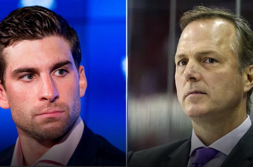 Lightning head coach Jon Cooper isn't happy that John Tavares passed his team in free agency