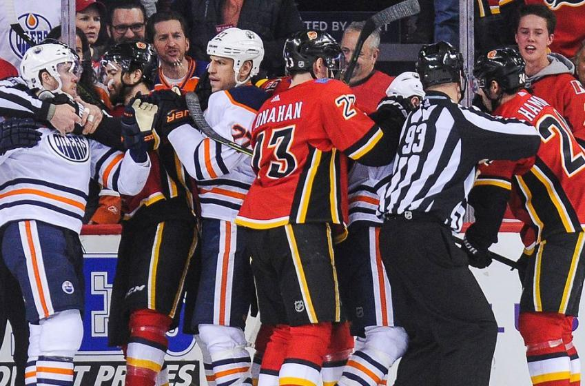 Flames arena staff troll hapless Oilers for final regular season game!