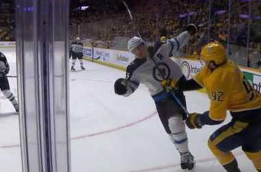 Breaking: NHL makes the right call on Johansen for his lumberjack chop on Scheifele!