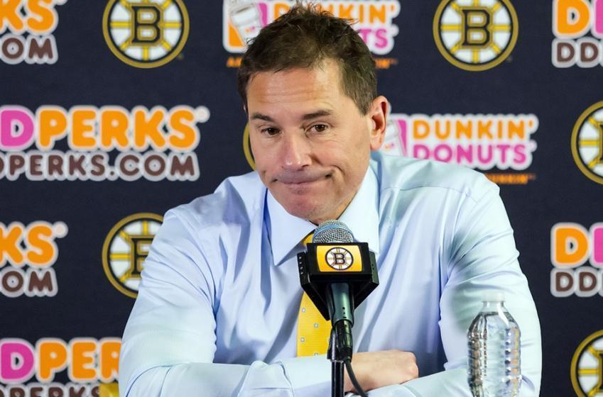 Breaking: Boston Bruins head coach makes a big change in goal tonight.
