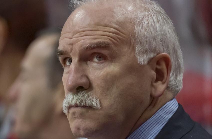 NHL head coach admits he threw a terrible first pitch.