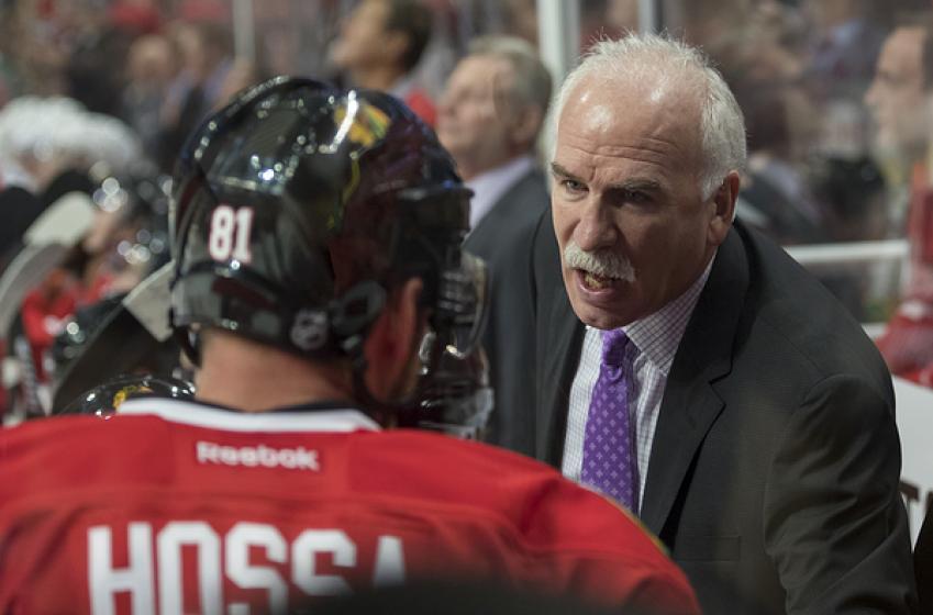 Coach Quenneville shares his concerns regarding Marian Hossa's absence