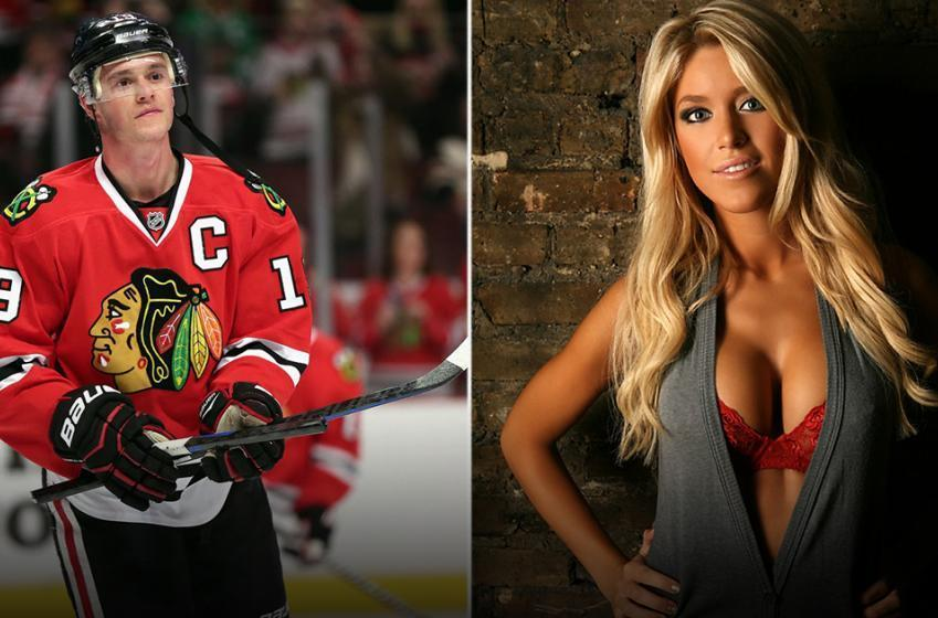 Must See: Toews' girlfriend Vecchione heats up the golf course