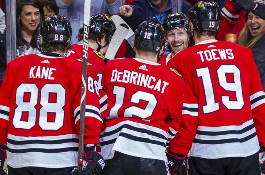 Blackhawks have held trade talks involving 4 NHL defensemen.