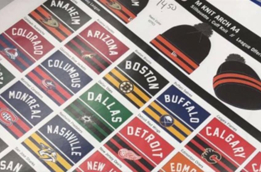 Leaked photo reveals team logo changes for 2019-20 NHL season