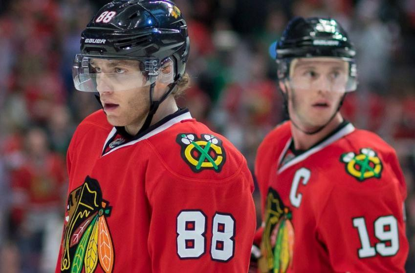 Blackhawks make a stunning move to announce their 29th pick.