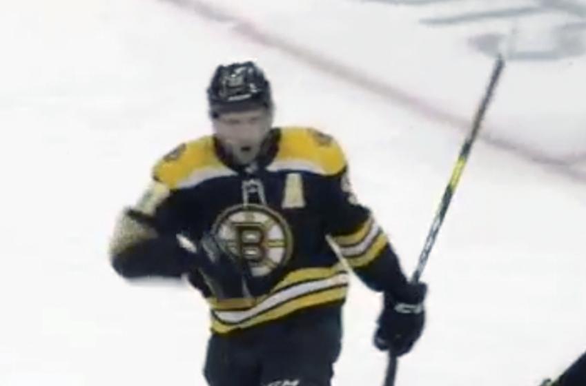 Bruins broadcaster Jack Edwards botches Bergeron's game-tying goal call