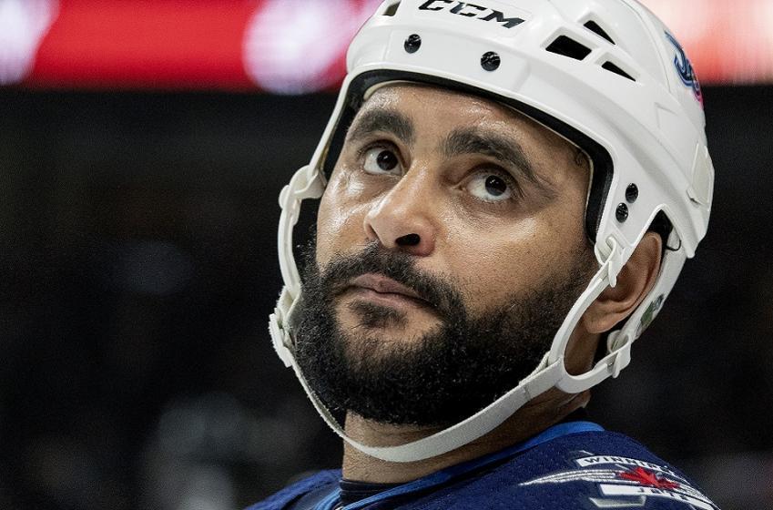 The Winnipeg Jets have suspended Dustin Byfuglien.
