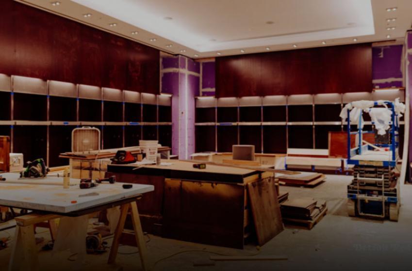 Take a sneak peek inside the Wings new locker room