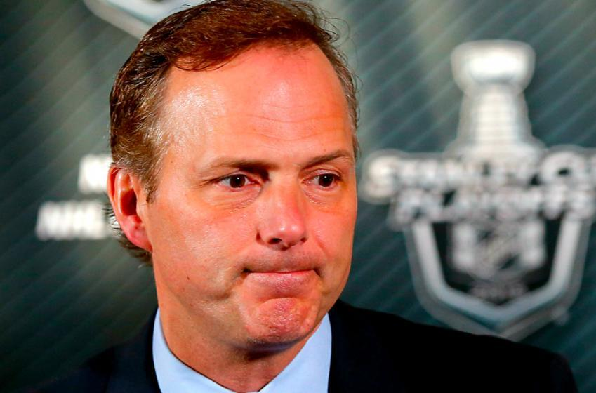 Lightning GM Brisebois talks about the possibility of firing head coach Jon Cooper