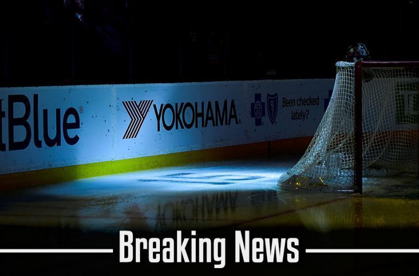 Breaking: Starting goaltender has suffered a serious injury.