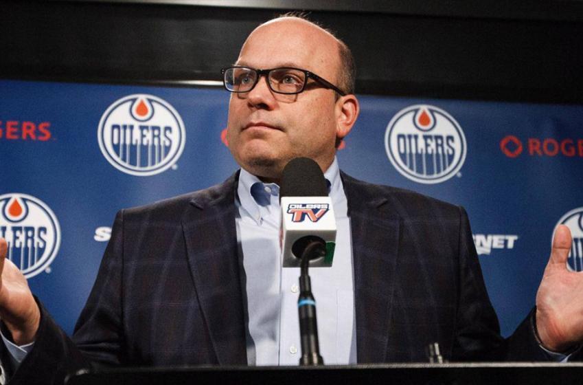 Fan builds website dedicated to firing of Oilers GM Peter Chiarelli