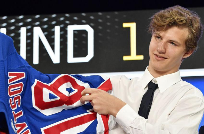 Report: Rangers top prospect Kravtsov set to make NHL debut