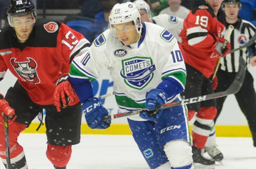 Breaking: Canucks make an AHL call up, Horvat injured?