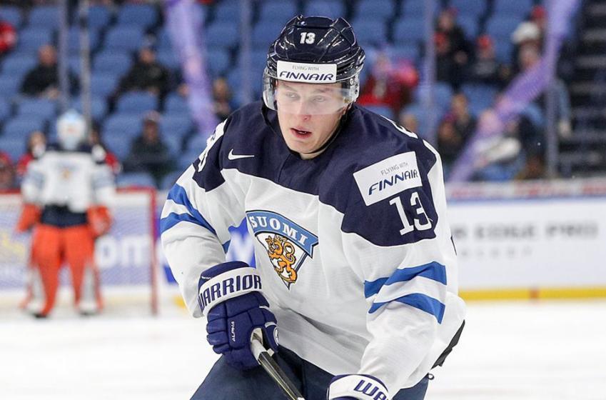 Top NHL prospect Vesalainen rejects World Juniors invite, angers team
