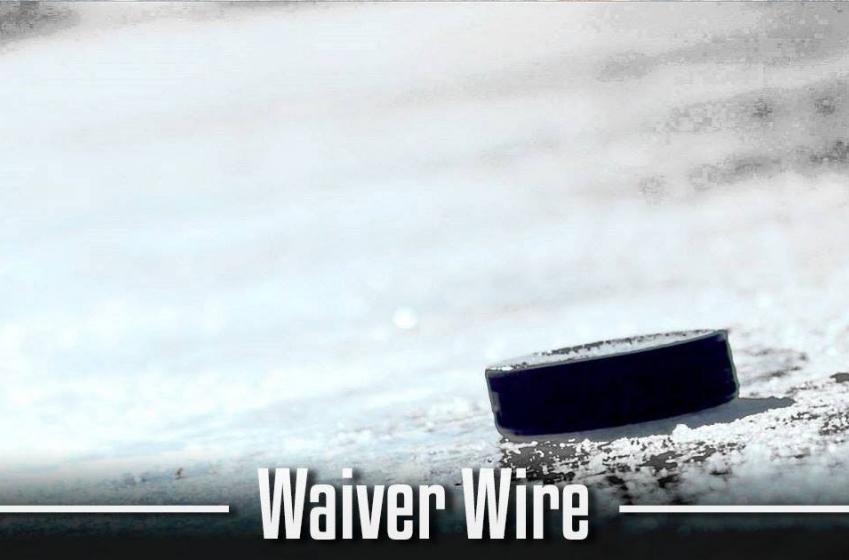 Breaking: 11-year NHL veteran placed on waivers!