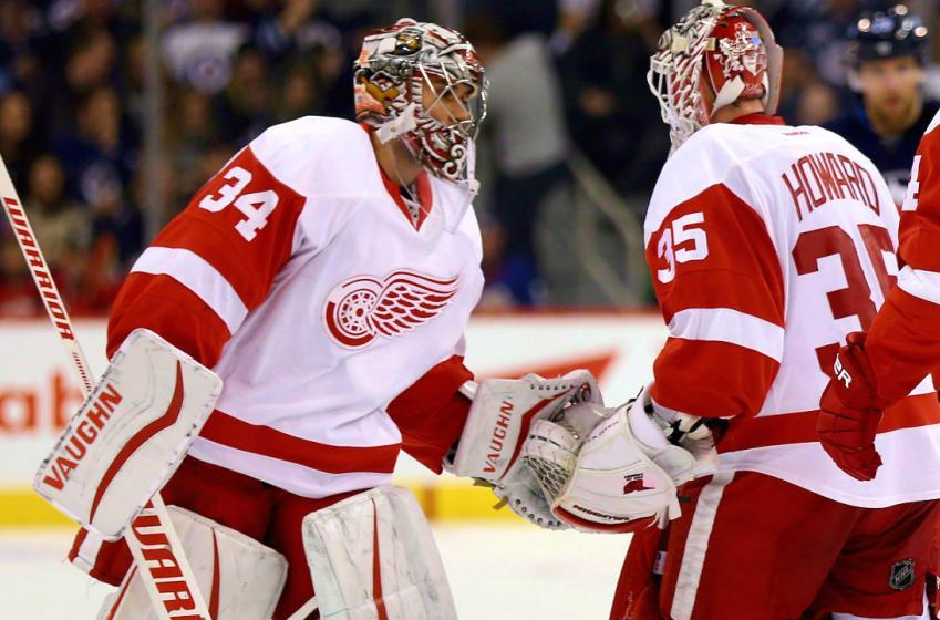 Red Wings versus Blues: Goaltender Announced
