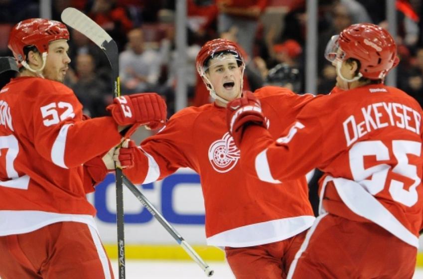 Red Wings @ Blues: Defensemen Announced