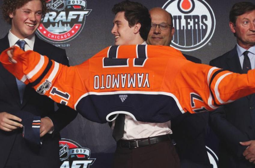 Oilers make history at 2017 NHL Entry Draft