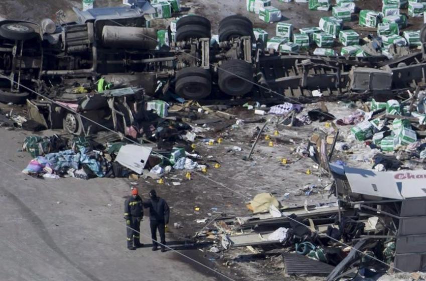 Owner of truck in Humboldt Broncos crash pleads guilty
