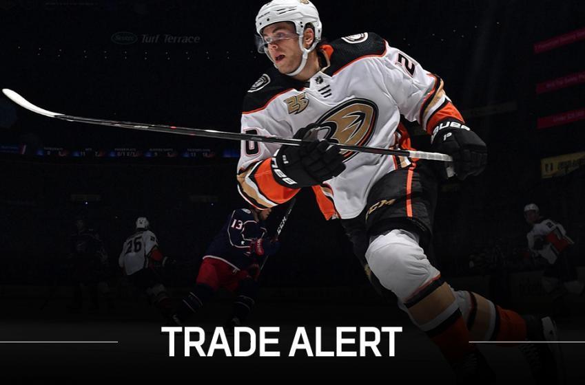 Breaking: Wild acquire Aberg from Ducks