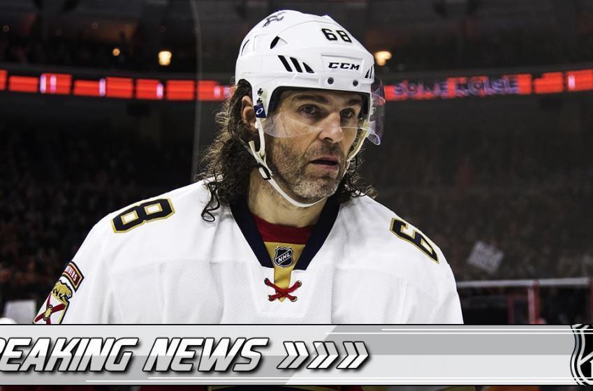 Report: Bad news for NHL legend Jaromir Jagr.