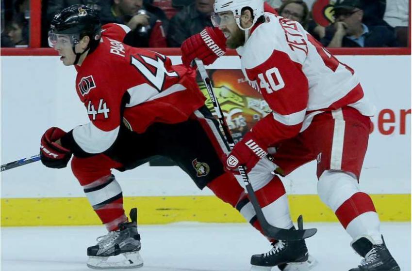 Update: Senators vs Red Wings