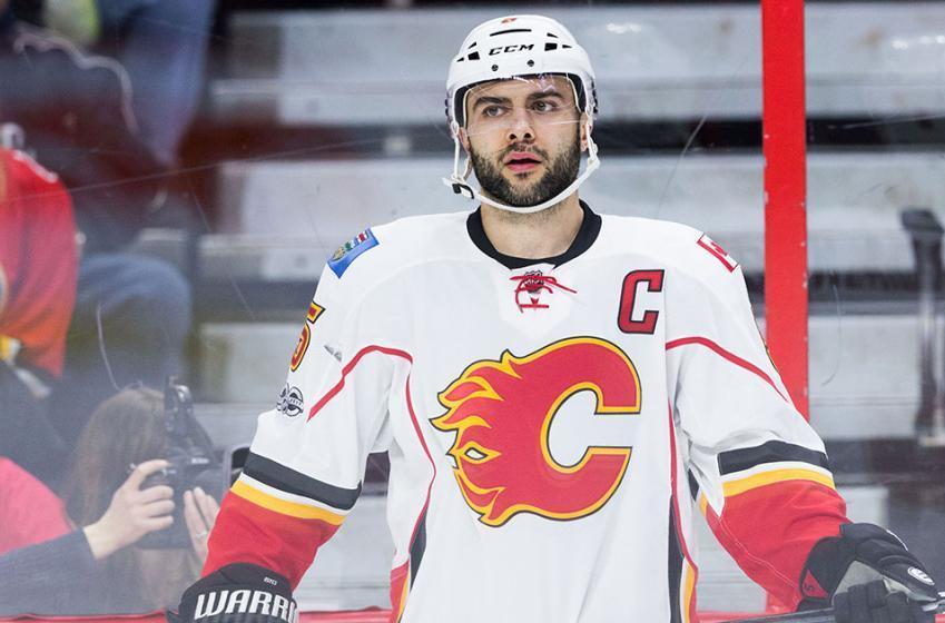 Flames' Giordano nominated for prestigious honor