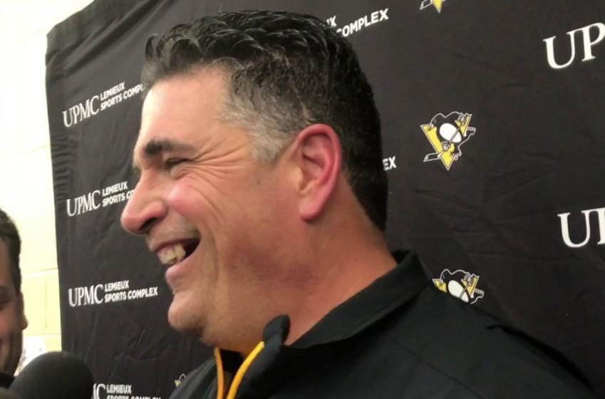 Kevin Stevens back with the Penguins!