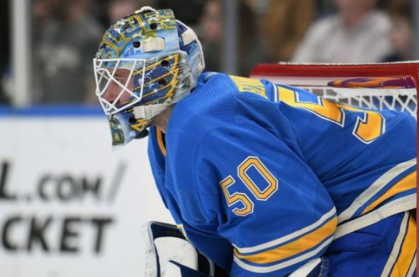 Bruins' coach Cassidy plays mind games with Blues goalie Binnington