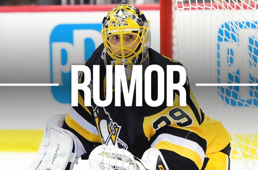 Rumor: Bombshell dropped by NHL insider regarding Marc-Andre Fleury.