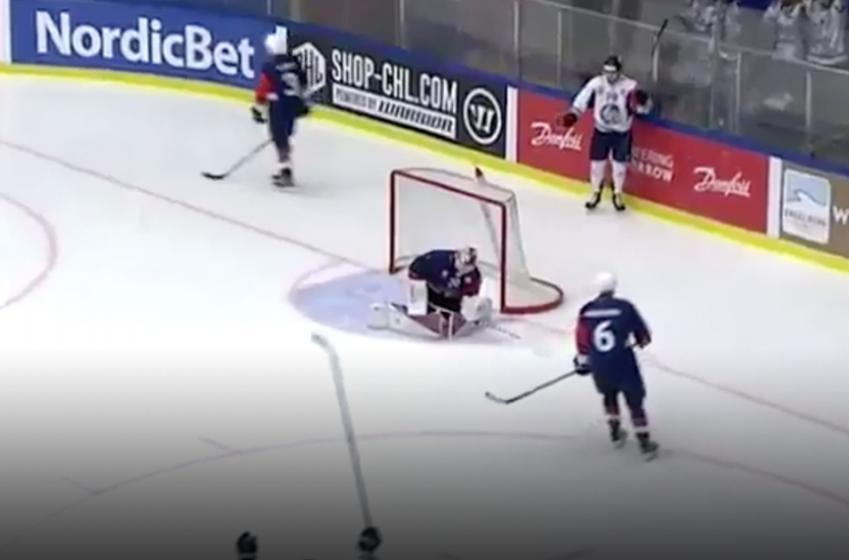 Must See: Former NHL goaltender scores BRUTAL own goal