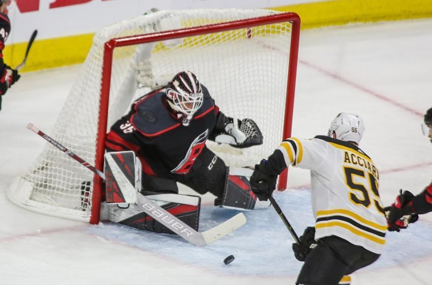 Veteran goaltender will hit the open market after career best season.