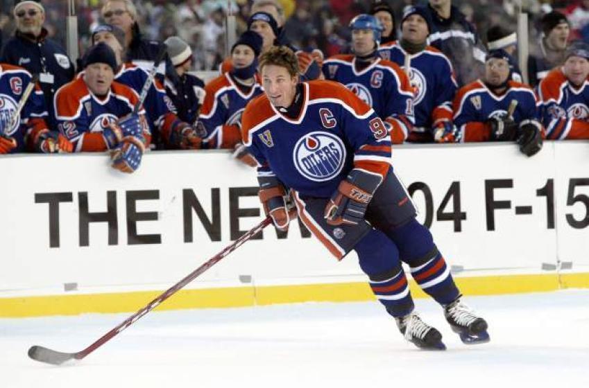 Gretzky Reveals His Ideal Lineup