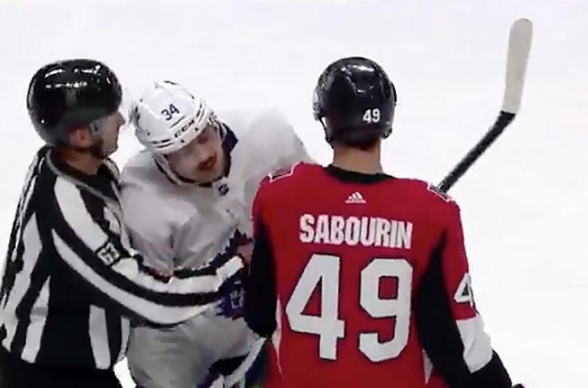 Sens' Borowiecki calls out Matthews for the way he treated teammate Sabourin