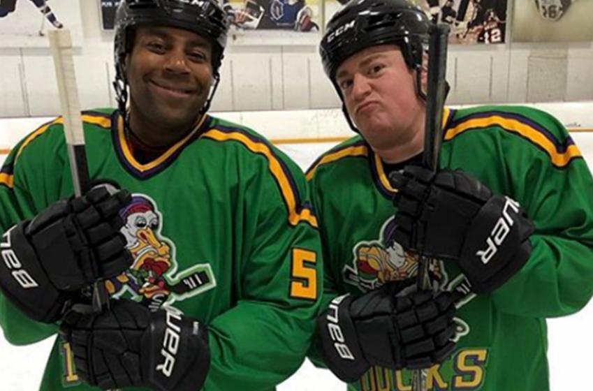 The Mighty Ducks reunite!