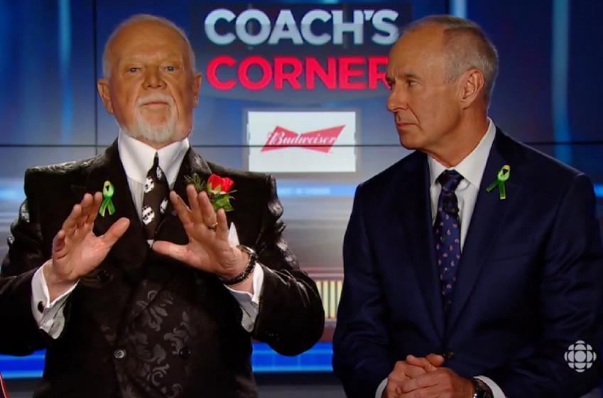 Maple Leaf Nikita Zaitsev destroys Don Cherry during interview.