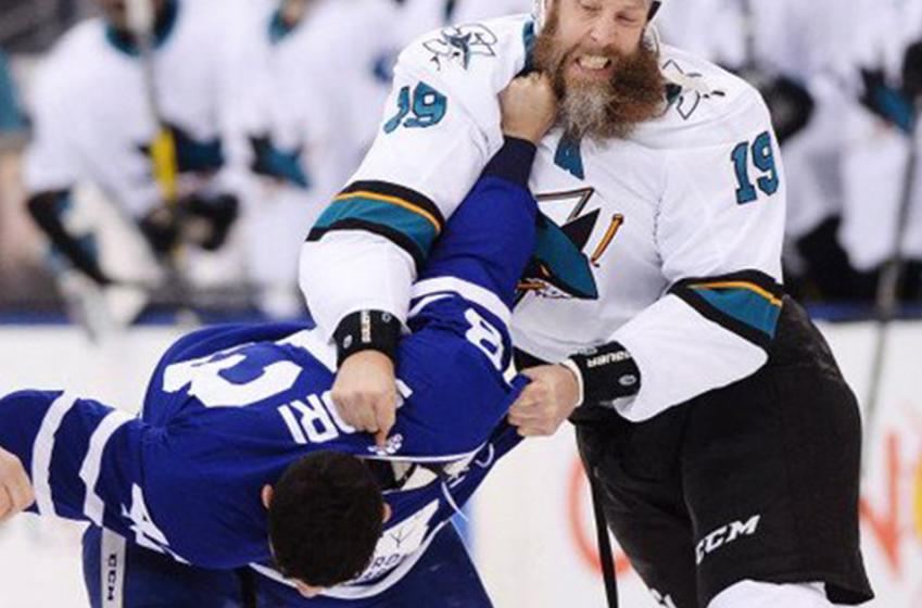 Sharks' DeBoer and Thornton and slam Kadri, threaten retribution ahead of tonight's game