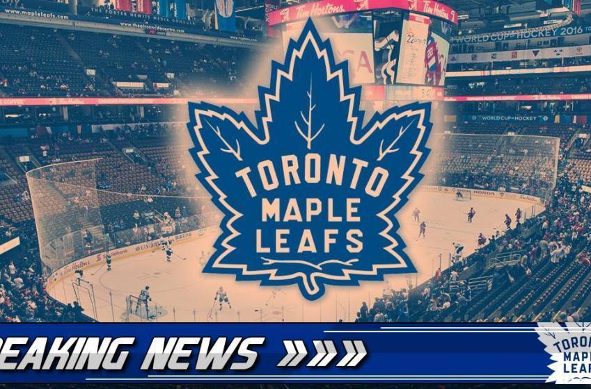 Leafs organization signs veteran defenseman to a PTO.