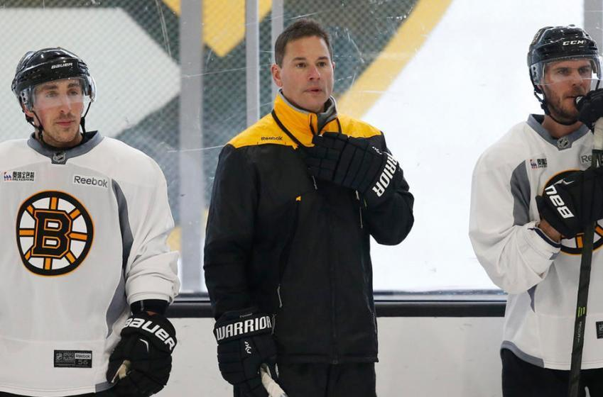 Bruins caught using film crew to cheat