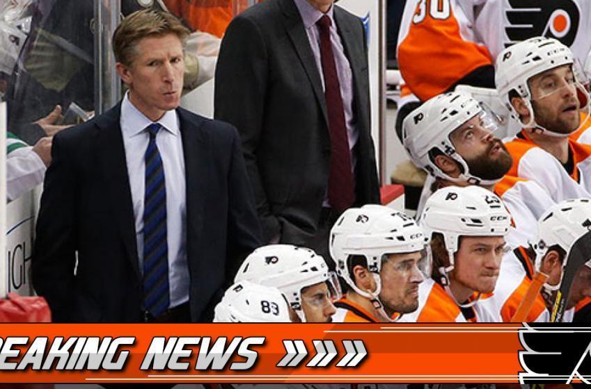 Breaking: Flyers make major coaching announcement
