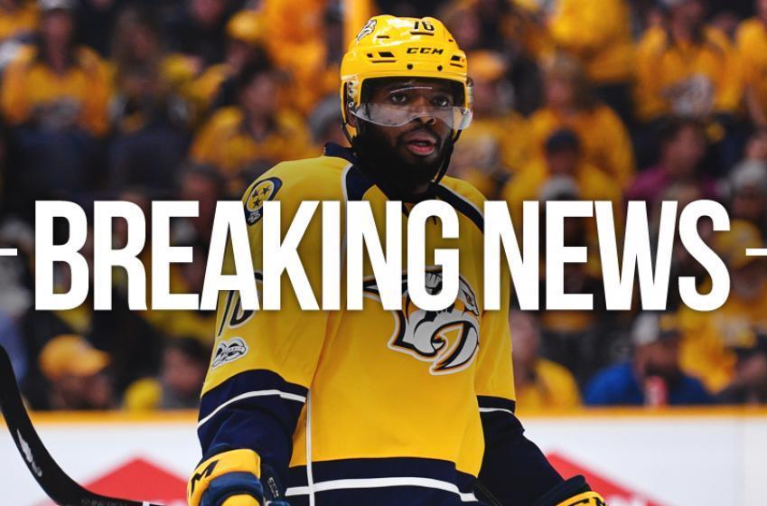 Breaking: Major update on P.K. Subban's injury following game 4.